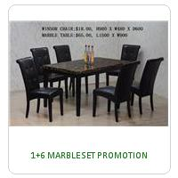 1+6 MARBLE SET PROMOTION